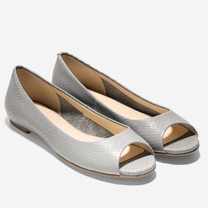 Cole Haan Morgan Open Toe Ballet flats 8.5